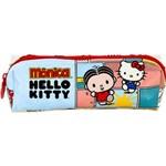 Estojo Simples Pvc Hello Kitty - Monica Bff - 7916 - Artigo Escolar - Único
