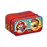 Estojo Sup. Mario Bros Nintendo 3 Divisorias - Foroni