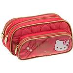 Estojo Triplo Hello Kitty Sparkling - Pacific