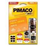 Etiqueta A5 Preta 935255 Pimaco