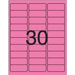 Etiqueta Carta 5580m Flu Mag 05 Fls 25,4x66,7 Pimaco Ct.c/150
