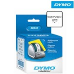Etiqueta para Impressora Térmica 2,5 X 2,5cm Rolo com 750 Unidades 30332 - Dymo