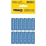 Etiqueta para Marcacao Confidencial Adesiva C/05 Fls. Pimaco Ct.c/60