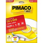 Etiqueta Pimaco Ink Jet Cd/Dvd