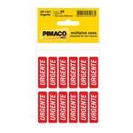 Etiqueta Pimaco Op1341 Urgente com 60 Etiqueta