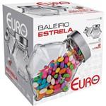 EURO HOME - Baleiro Estrela 2L com Tampa Inox - VDR7947