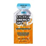Exceed Energy Gel - 1 Sachê 30g - Água de Coco