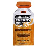 Exceed Energy Gel Caixa com 10 Uni- Tangerine Splash