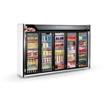 Expositor Refrigerado Auto Serviço 5 Portas Asfl5pp - Refrimate