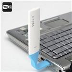 Extensor de Alcance Wi-Fi USB Flexível 2.4GHz Portátil Até 150Mbps LED Indicação Alta Frequência