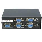 Extensor Switch Kvm Vga com 4 Portas de Saída - Sp-2004