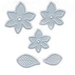 Faca de Corte e Relevo Elegance Toke e Crie FPCR017 Pequena Mini Flores