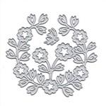 Faca de Corte Elegance Toke e Crie FPC015 7,1x8cm Bouquet