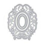 Faca de Corte em Metal 2 Peças Moldura Espelho Modelo 7