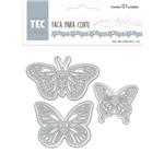 Faca para Corte e Relevo Elegance Toke e Crie - Borboletas 20910 - Fpcr006
