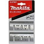 Faca para Plaina de 82 Mm com 2 Peças - D-07967 - Makita