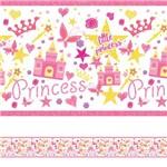 Faixa Decorativa Adesiva Infantil Princesa 5mx10cm