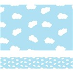 Faixa Decorativa Infantil Nuvens 10m X 10cm