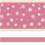 Faixa Decorativa para Quarto de Bebê Floral 3mx15cm