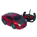 Famous Car R/c 7 Funções Vermelho - Candide