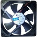 Fan 12x12cm Preto MVDC0004 - Storm