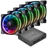 Fan Riing Plus com 5 Unidades 14cm RGB Premium THERMALTAKE