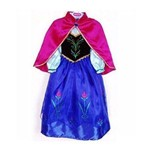 Fantasia Princesa Anna- Infantil - Tam 8