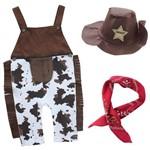Fantasia Baby Cowboy Menino Tam Único