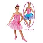 Fantasia Barbie e as Sapatilhas Mágicas Luxo – P