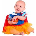 Fantasia Body Princesa Rubi Bebê (baby)