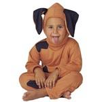 Fantasia Cachorro Infantil Animais Completa com Capuz - P 2 - 3