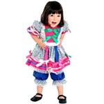 Fantasia Caipira Bebê Sulamericana Original - P 0 - 1