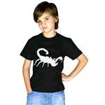 Fantasia Camiseta Halloween de Escorpião Infantil Sulamericana