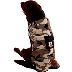 Fantasia Camuflado Bege/Marron - Super Pet