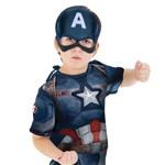 Fantasia Capitão América 2 Curta Infantil Vingadores Rubies