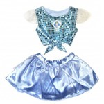 Fantasia Cropped Cinderela Princesas Disney