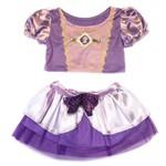 Fantasia Cropped Rapunzel Princesas Disney