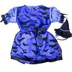 Fantasia de Bruxa Baby com Chapeu Halloween Bebe - Único