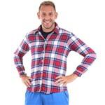 Fantasia de Festa Junina Adulto Masculino Camisa Xadrez Caipira