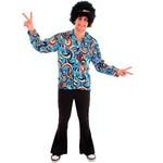 Fantasia Hippie Moderno Masculino Adulto