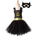 Fantasia Infantil Batman Tutu Tam Único