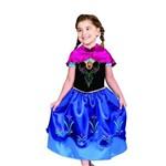 Fantasia Infantil - Disney Frozen Anna Luxo - Tam. G - Rubies 1031
