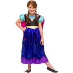 Fantasia Infantil Frozen Anna Luxo - Rubies