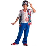 Fantasia Infantil Hippie Masculino Standart - Sulamericana Fantasias