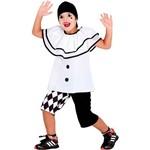 Fantasia Infantil Pierrot Verão - Sulamericana