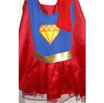 Fantasia Infantil Super Menina - Tamanho P