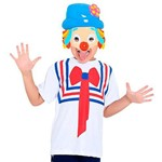 Fantasia Kit Patati Infantil Camiseta e Máscara Sulamericana