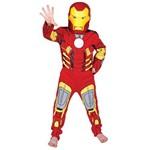 Fantasia Longa Iron Man Clássico (M) 881322