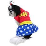 Fantasia Mulher Maravilha - Super Pet