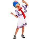 Fantasia Patati Pop Azul M - Sulamericana